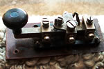 an old morse key